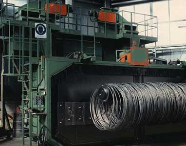 Coil shot blasting Machine