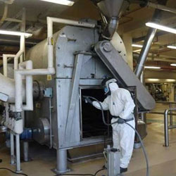 Maintenance Work on Shot Blasting Machines