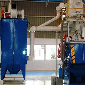 Tumb Type Blasting Machine